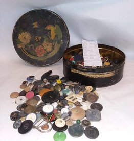 Lot of Antique & Other Buttons, 3 LBS., E.1900's.