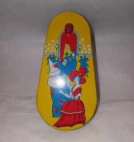 "Kirchof Party Dancers Noisemaker, 4.5"", c.1950"