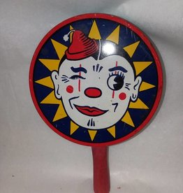 "Winking Clown (Kirchhof) Noisemaker, 4x1"", 1940's"