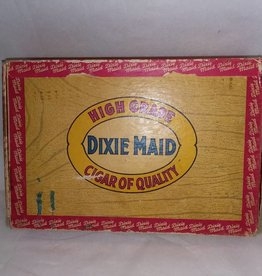 "Dixie Maid Cigar Box, 5.75x5.75"", 1950's"