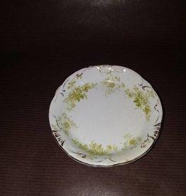 "Meakin Individual Porcelain Butter Dish, 3.25"", E.1900's"