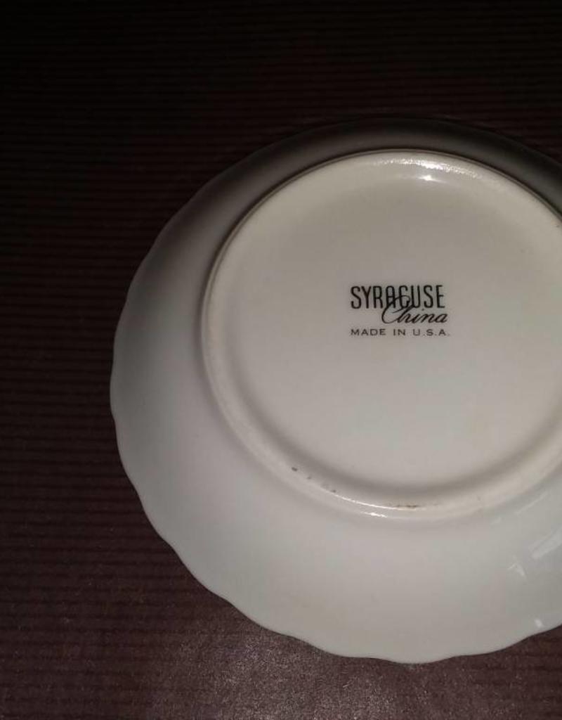 """100 Year Anniversary Syracuse China Plate, 3.75"""", 1971"""
