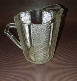 Creamer, Clear Glass, 1 Cup, E.1900's