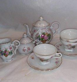 11 Piece China Tea Set, E.1950's