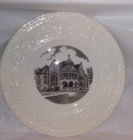 "1st Methodist Church Plate, Wedgewood, England, 10.75"", M.1900's"