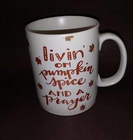 Livin on Pumpkin Spice Coffee Mug