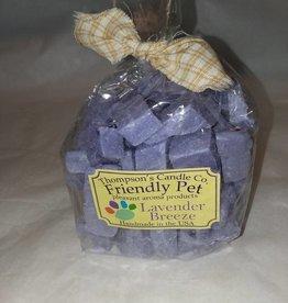 Thompson's Candle Company Lavender Breeze Friendly Pet Crumbles, 8 Oz., USA Made