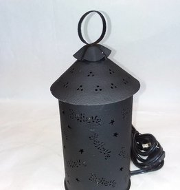 Believe Punched Tin Wax/Tart Warmer, Electric
