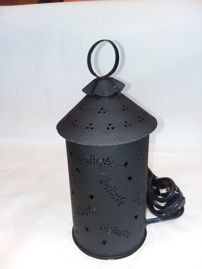 Believe Punched Tin Wax/Tart Warmer, Electric - The Second Knob Gifts &  Antiques