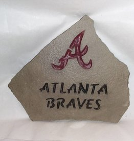 "Unique Atlanta Braves ""Sign"", Etched Slate"