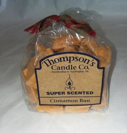 Thompson's Candle Company Cinnamon Bun Crumbles, 6 Ounce, USA Made