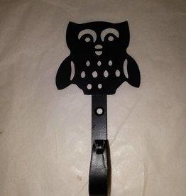 """Owl Hook, Lightweight, 6"""""""