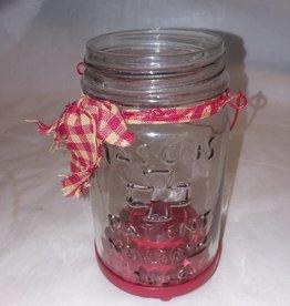 Mason Jar Tealight Hldr