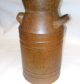 Rust Colored Milk Can Replica, 11""