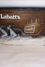 """Foam Labatt's Beer Sign, 15""""x10"""", c.1970"""