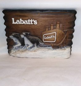 "Foam Labatt's Beer Sign, 15""x10"", c.1970"