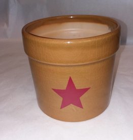 Crock with Red Star