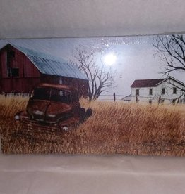 Ole Truck Canvas 6x10""