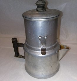 4 Cup Capacity Aluminum Brewing Pot, c.1920's-30's