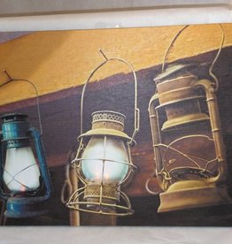Hanging Lantern Canvas