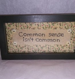 Common Sense isn't Common Stitchery