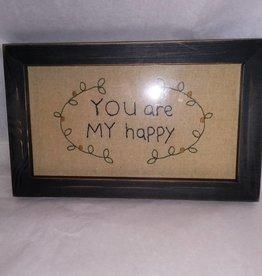 You Are My Happy Stitchery