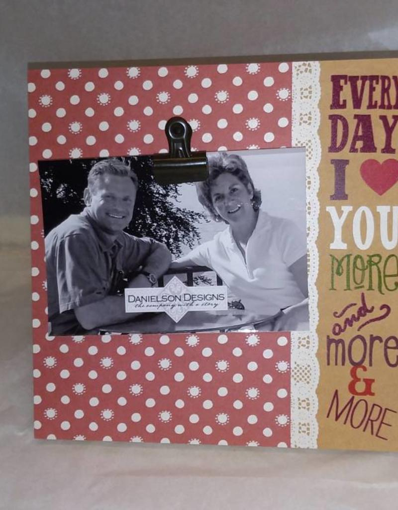 Everyday I Love You More Frame The Second Knob Gifts Antiques