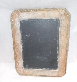 "Small Child's School Slate, 7"" x 9"", c.1920"