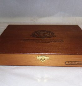 Padron 4000 Wooden Cigar Box, 11 3/8x7 1/2x1 7/8""