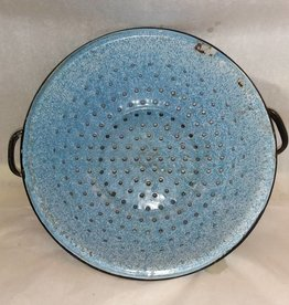 Blue & White Collander, 1940's