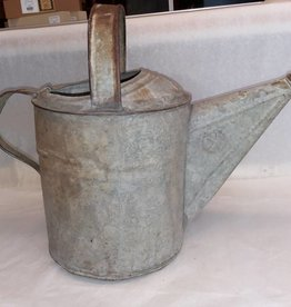 Galvanized Watering Can (No Sprayhead), 8 Quart, 1950's