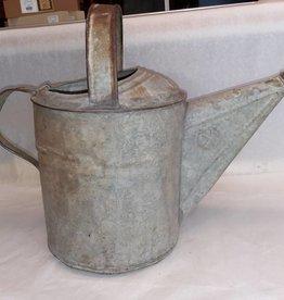 Galvanized Watering Can (No Sprayhead), 8 Quart, 1950's
