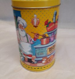 "M&M Peanuts Christmas Tin, 4.25""x6.75"", 1994"