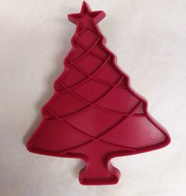 "Tupperware Christmas Tree Cookie Cutter, 3.75"" x 4.75"", 1970's"