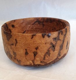 "Spalted Wood Bowl, Oak, 7x3.5"", c.2006"