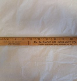 Baltimore Life Insurance Co., Ruler, c.1980