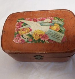"""Ideal"" Toilet Soap Box, 5.25x3.5x2.5"", 1920's"