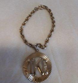 IKE Gold Tone Bracelet, 1950's