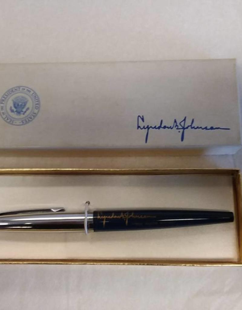 LBJ Presidential Pen, Unused, E. 1960's