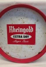 "Rheingold E/D Lager Beer Tray, 12"" x 1.25"", c.1970"
