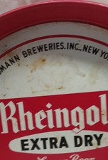 """Rheingold Extra Dry Lager Beer Tray, 116 Years, 12"""" x 1.25"""", c.1960's"""