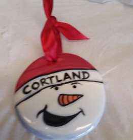Cortland St Ornament