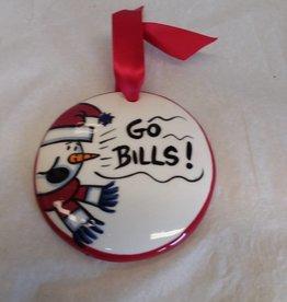 Go Bills Ornament