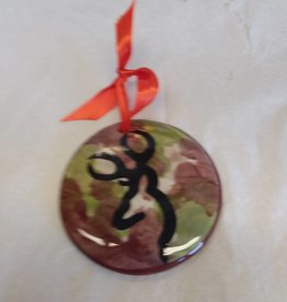 Camo Browning Ornament