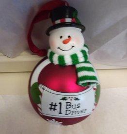 #1 Bus Driver Ornament