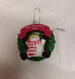 Best Teacher's Aide Ornament