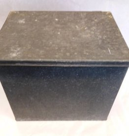 "Vintage Galvanized Porch Box, 12""x9""x11"", c.1950"