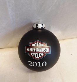 Harley Davidson Christmas Ornament w/Box, 2010