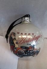 Harley Davidson Christmas Ornament, 2012