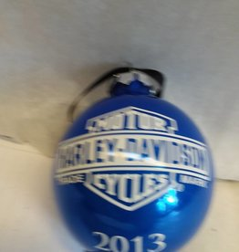 Harley Davidson Christmas Ornament, 2013